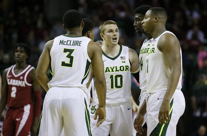 NCAA Basketball: Alabama at Baylor