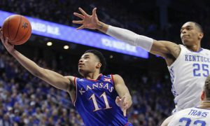 NCAA Basketball: Kansas at Kentucky