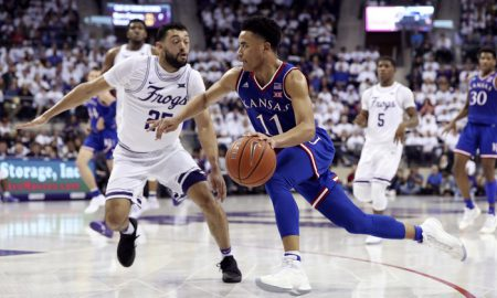 NCAA Basketball: Kansas at Texas Christian