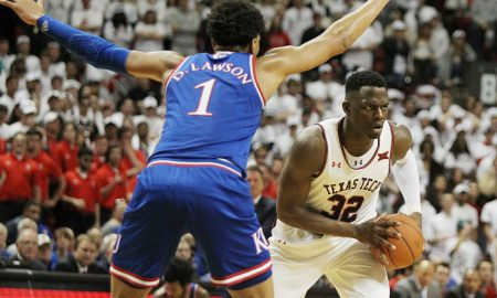 NCAA Basketball: Kansas at Texas Tech