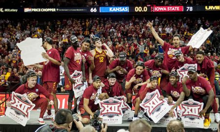 NCAA Basketball: Big 12 Conference Tournament-Iowa State vs. Kansas