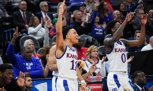 NCAA Basketball: NCAA Tournament-First Round-Kansas vs Northeastern