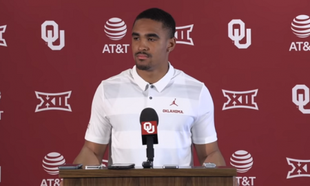 jalen hurts press conference sooners