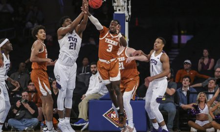 NCAA Basketball: NIT Semifinal-Texas vs TCU