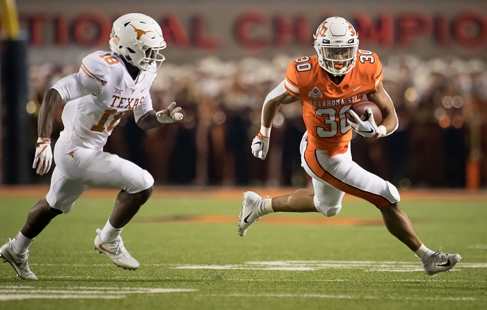NCAA Football: Texas at Oklahoma State