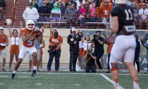 NCAA Football: Texas Orange-White Spring Game