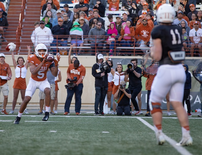NCAA Football: Texas Orange-White Spring Game