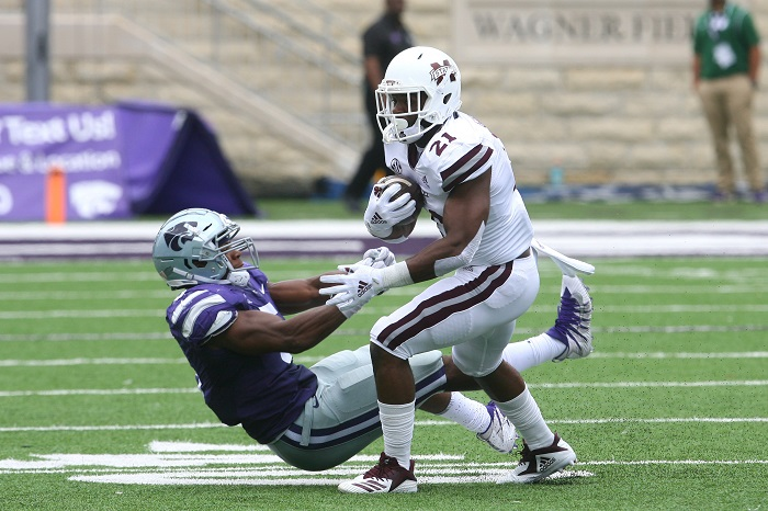NCAA Football: Mississippi State at Kansas State