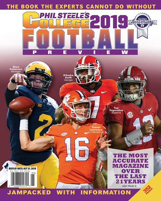 phil steele 2019 cover
