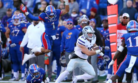 NCAA Football: Kansas State at Kansas