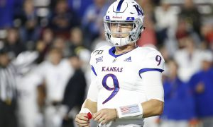 NCAA Football: Kansas at Boston College