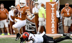 NCAA Football: Oklahoma State at Texas