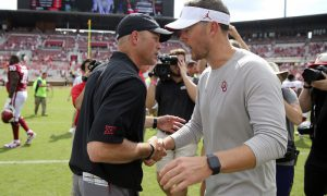 NCAA Football: Texas Tech at Oklahoma