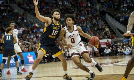 NCAA Basketball: Big 12 Conference Tournament-Texas Tech vs. West Virginia