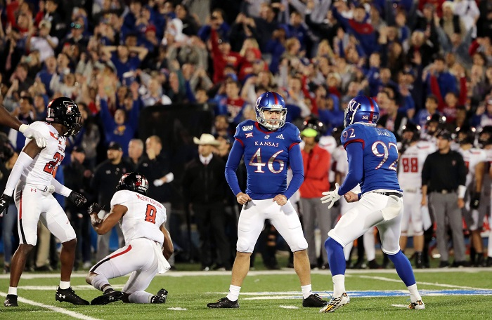 NCAA Football: Texas Tech at Kansas