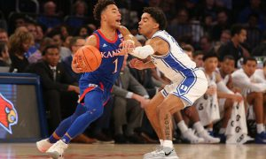 NCAA Basketball: Kansas at Duke