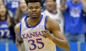 NCAA Basketball: Monmouth-NJ at Kansas