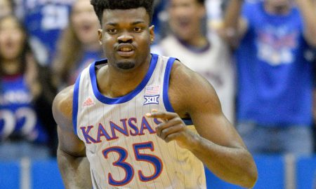 NCAA Basketball: Monmouth-NJ at Kansas