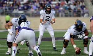 NCAA Football: West Virginia at Kansas State