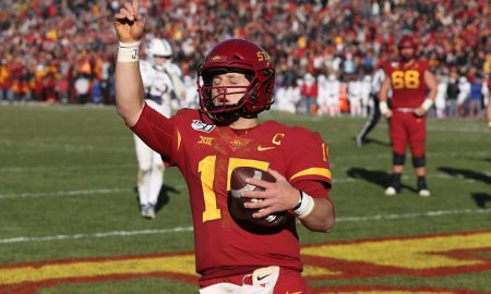 NCAA Football: Kansas at Iowa State