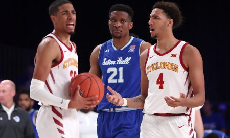 NCAA Basketball: Battle 4 Atlantis-Iowa State vs Seton Hall