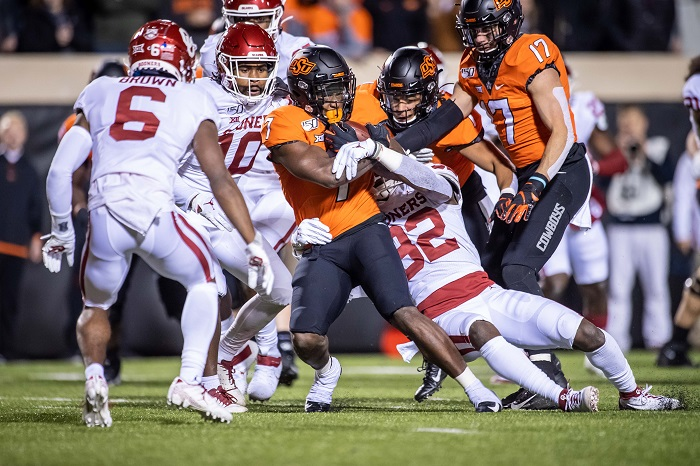 Oklahoma Football Sooners Beat Oklahoma State