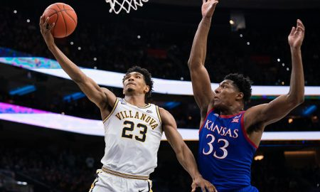 NCAA Basketball: Kansas at Villanova