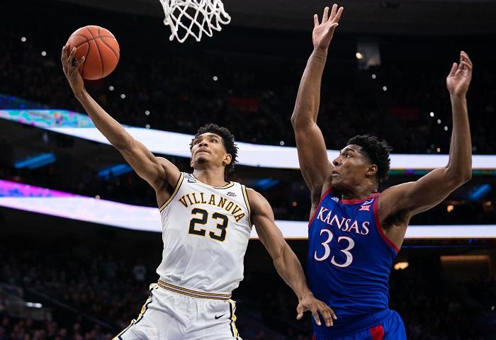 NCAA Basketball: Kansas at Villanova