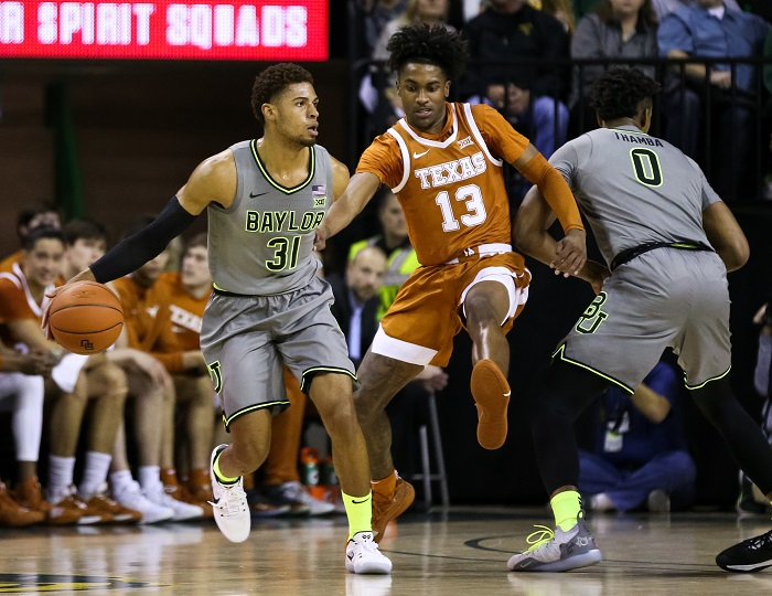 NCAA Basketball: Texas at Baylor