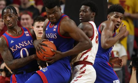 NCAA Basketball: Kansas at Iowa State