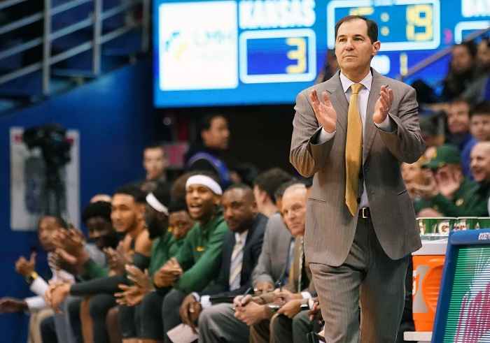 NCAA Basketball: Baylor at Kansas