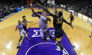 NCAA Basketball: West Virginia at Kansas State