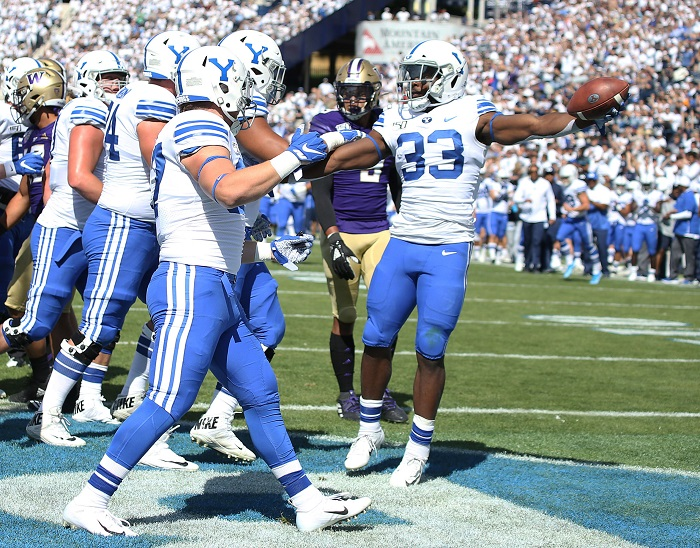 NCAA Football: Washington at Brigham Young