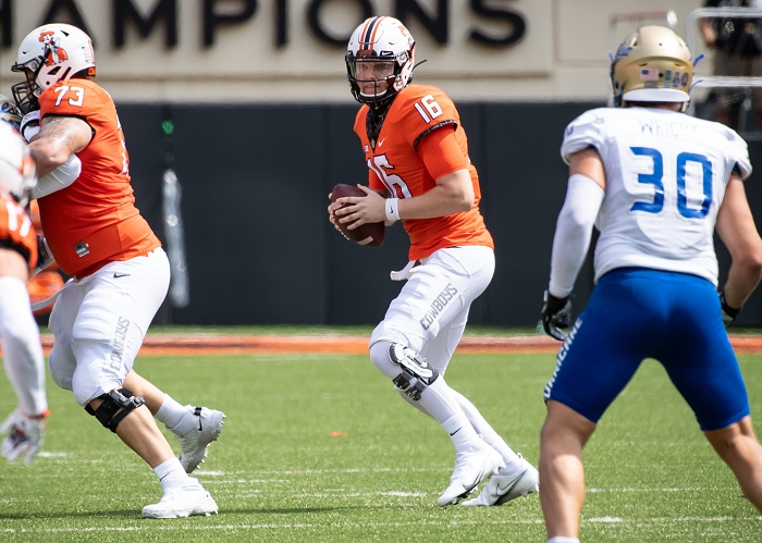 NCAA Football: Tulsa at Oklahoma State