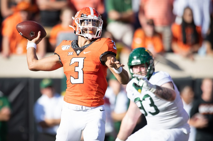NCAA Football: Baylor at Oklahoma State