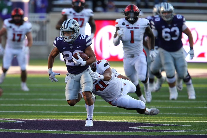 NCAA Football: Texas Tech at Kansas State