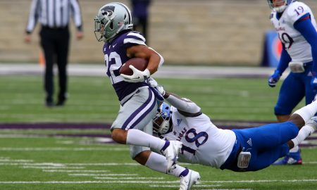 NCAA Football: Kansas at Kansas State