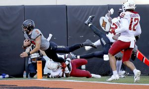 NCAA Football: Iowa State at Oklahoma State
