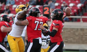 NCAA Football: West Virginia at Texas Tech