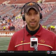 matt campbell emotional vs. texas