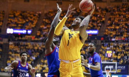 NCAA Basketball: Kansas at West Virginia