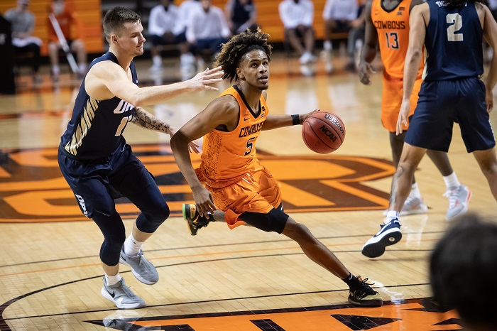 NCAA Basketball: Oral Roberts at Oklahoma State