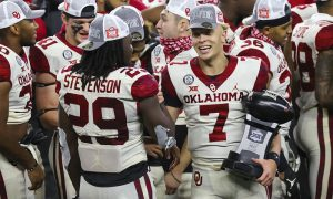 NCAA Football: Big 12 Championship-Oklahoma at Iowa State