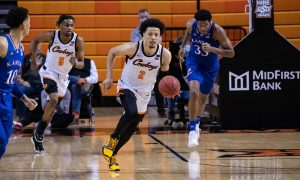 NCAA Basketball: Kansas at Oklahoma State