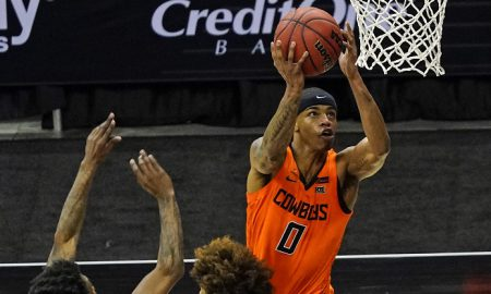NCAA Basketball: Big 12 Conference Tournament-Oklahoma State vs West Virginia