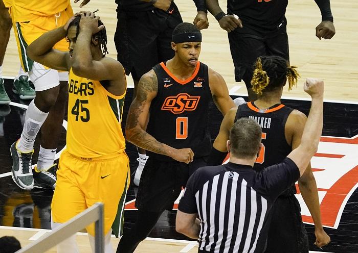NCAA Basketball: Big 12 Conference Tournament-Oklahoma State vs Baylor