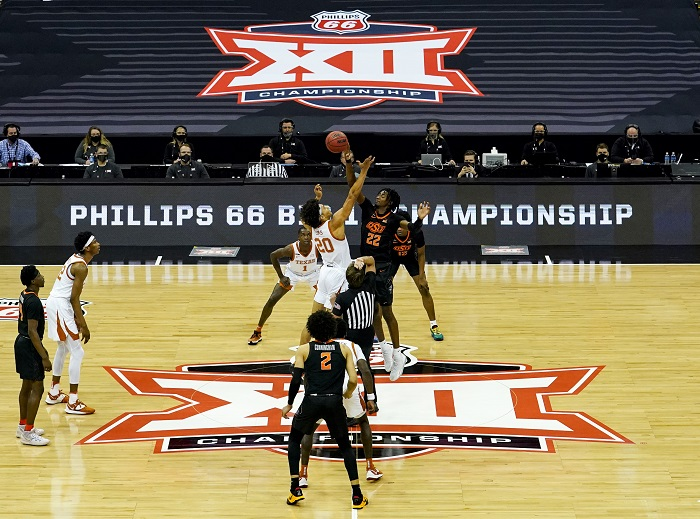 NCAA Basketball: Big 12 Conference Tournament-Oklahoma State vs Texas