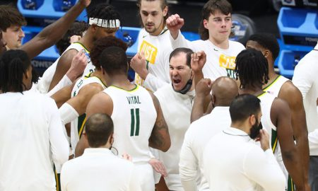 NCAA Basketball: NCAA Tournament-Arkansas at Baylor