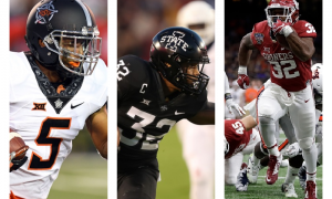 Big 12 running backs photo