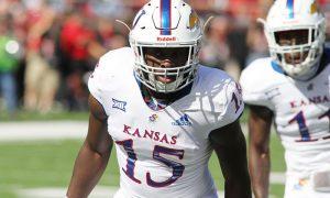 NCAA Football: Kansas at Texas Tech